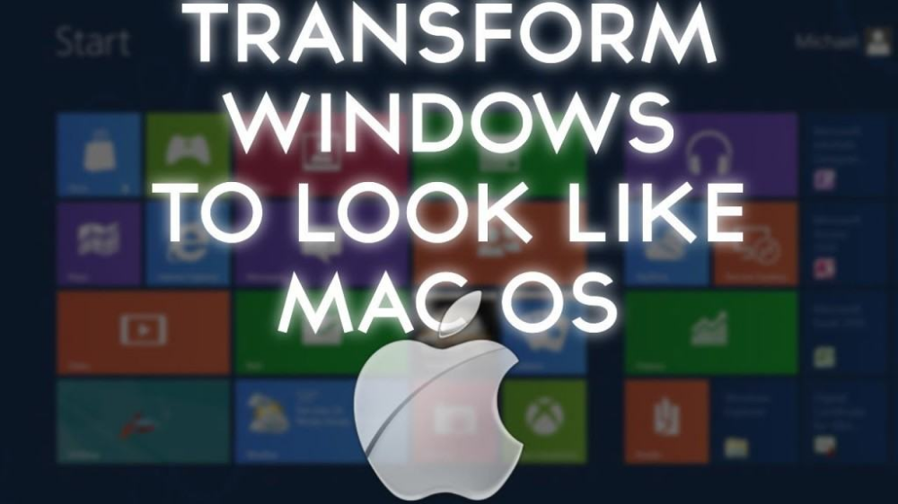 How to Make Windows 10 Look Like Mac SUPER EASY (With