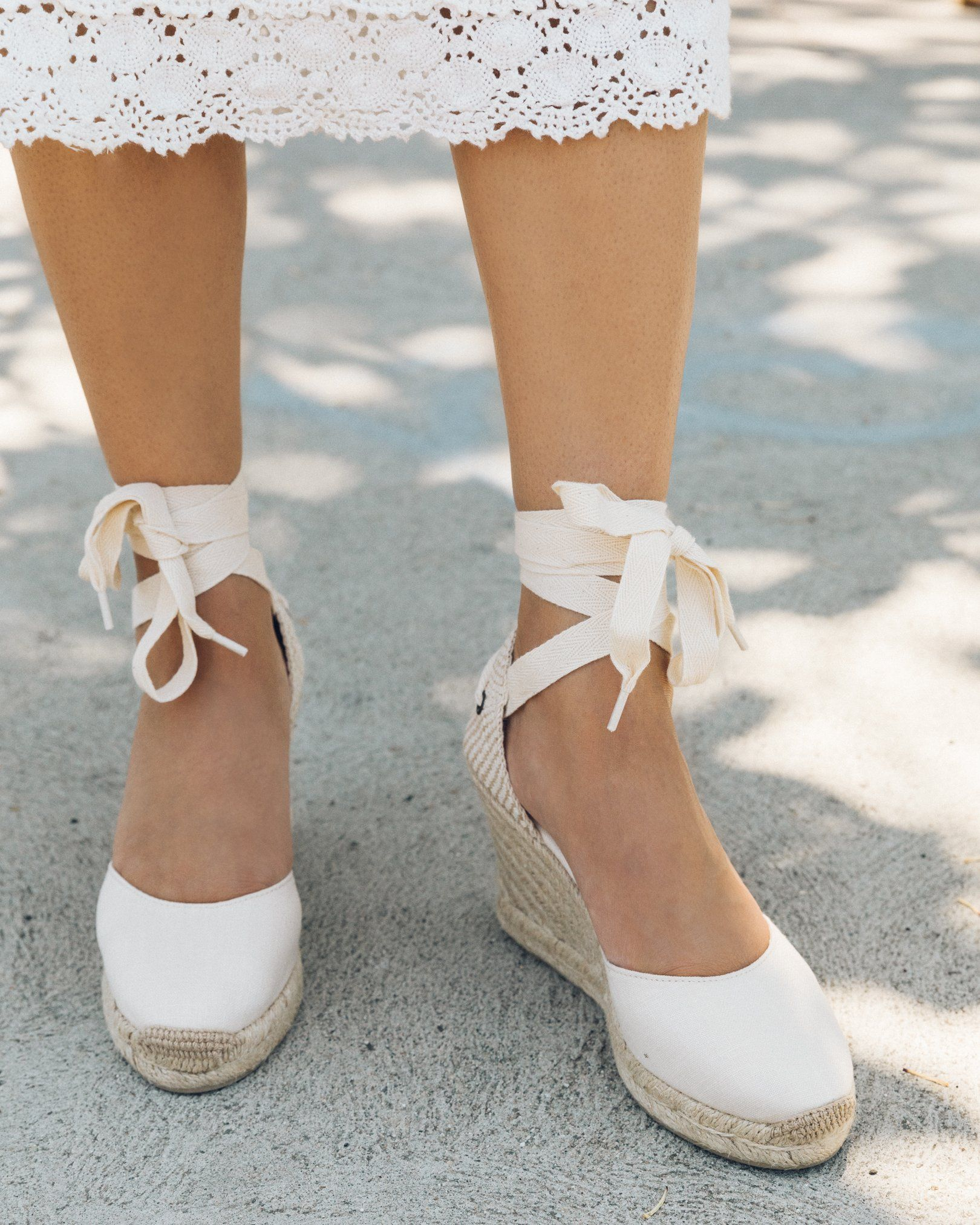 340ffa0aae4 Classic Tall Wedge - Blush / 5 in 2019   Wedges   Espadrille shoes ...
