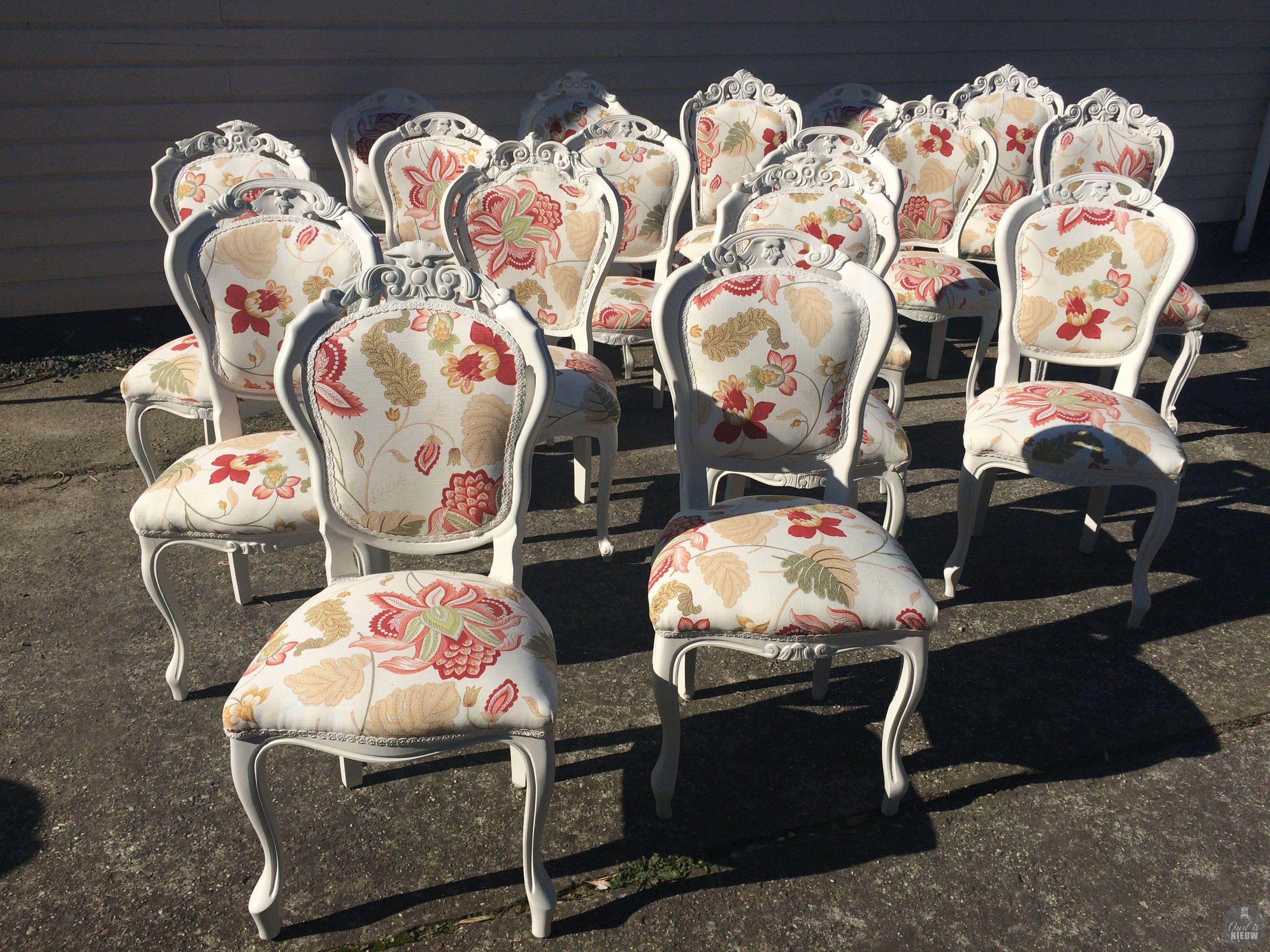 Barok stoel zelf bekleden oude stoelen opnieuw for Stof om stoel te bekleden