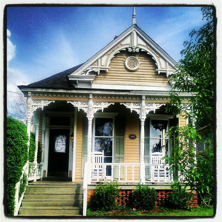Victorian Cottage | Lovely Folk Victorian cottage. Columbus, Ga