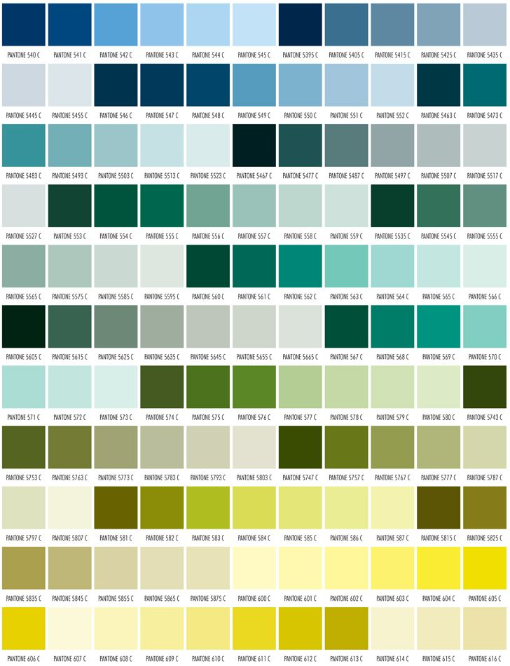 Found on Google from greentreeprinting Green Inspo Pinterest - sample pms color chart
