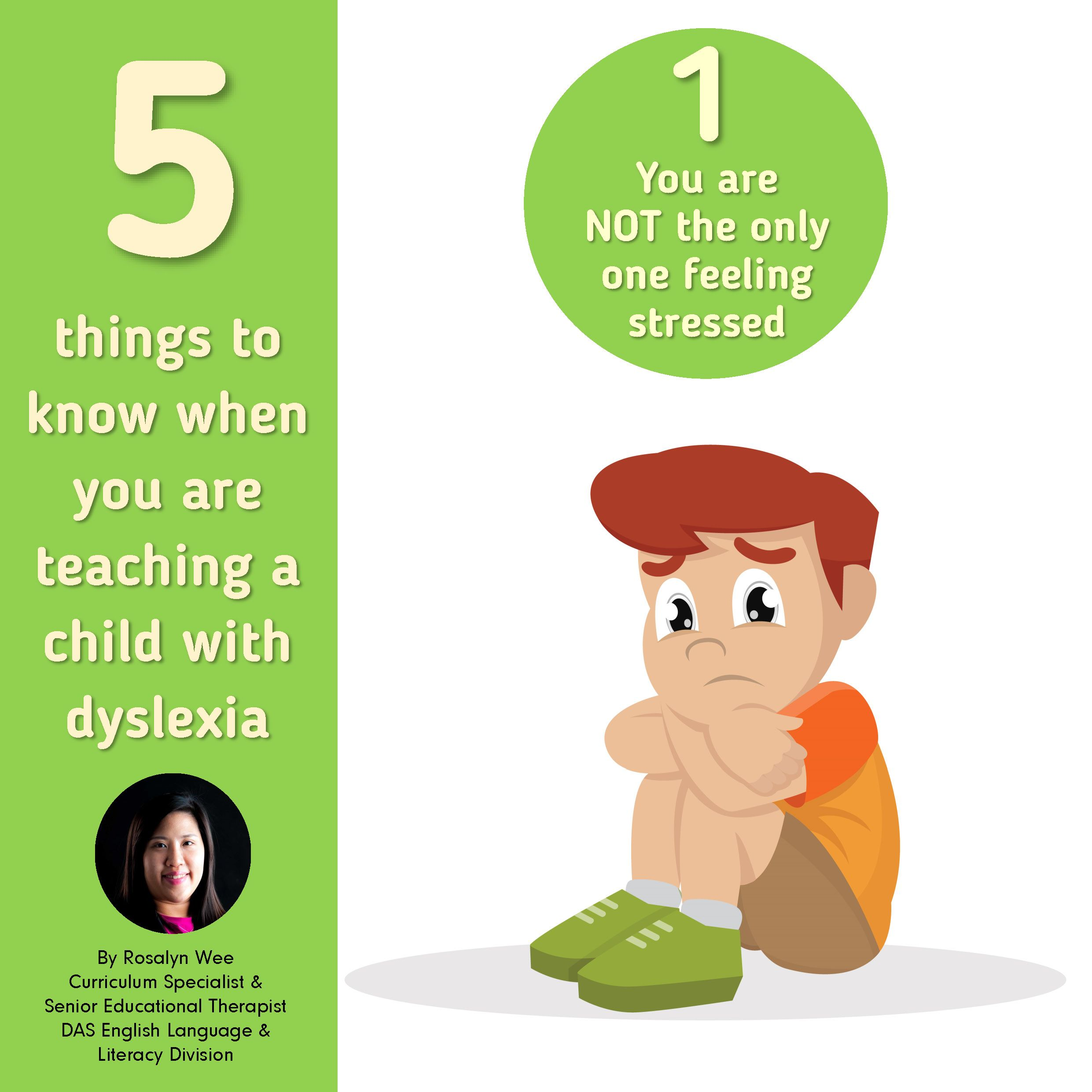 5 Things To Know When Teaching A Child With Dyslexia