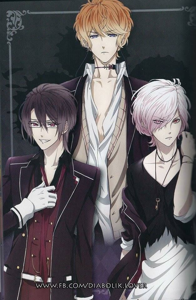 Pin By Jay K On Anime Y People Diabolik Lovers Wallpaper Diabolik Lovers Diabolik Lovers Ayato