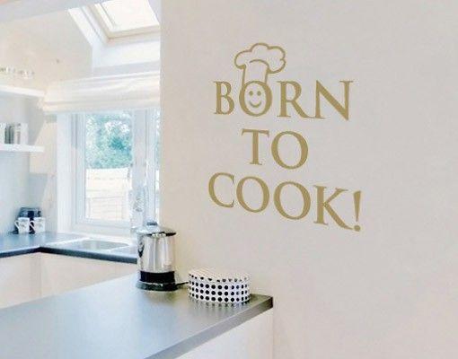 Wandtattoo Sprüche - Wandworte No.SF202 #cook #Küche #kitchen #essen ...