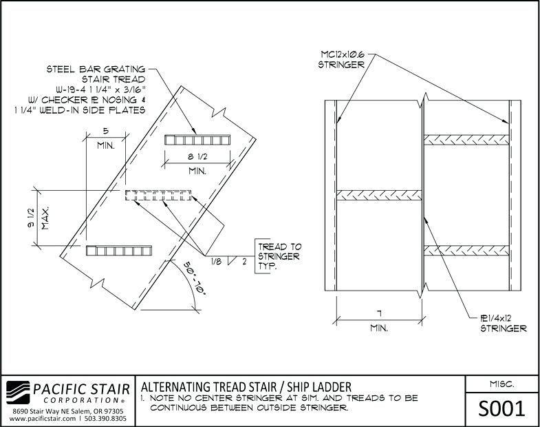 Best Http Kolhoznik Pro Alternating Tread Stair Alternating 640 x 480