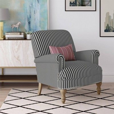 Ruby Accent Chair Black Dorel Living Products In 2019