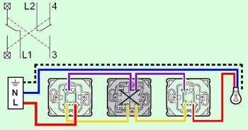 Cablage Triple Va Et Vient Devis Electricite Venus Interrupteur Va Et Vient