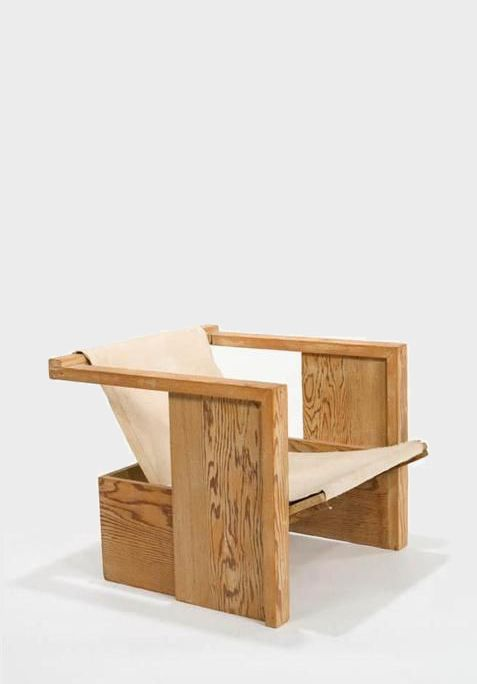 Rudolph M. Schindler; Custom Lounge Chair For The Janson House, 1948. |  Möbel | Pinterest | House, Woodworking And Woods