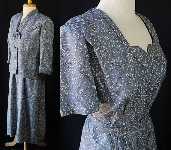 01279e787b2 1940s Plus Size Dress