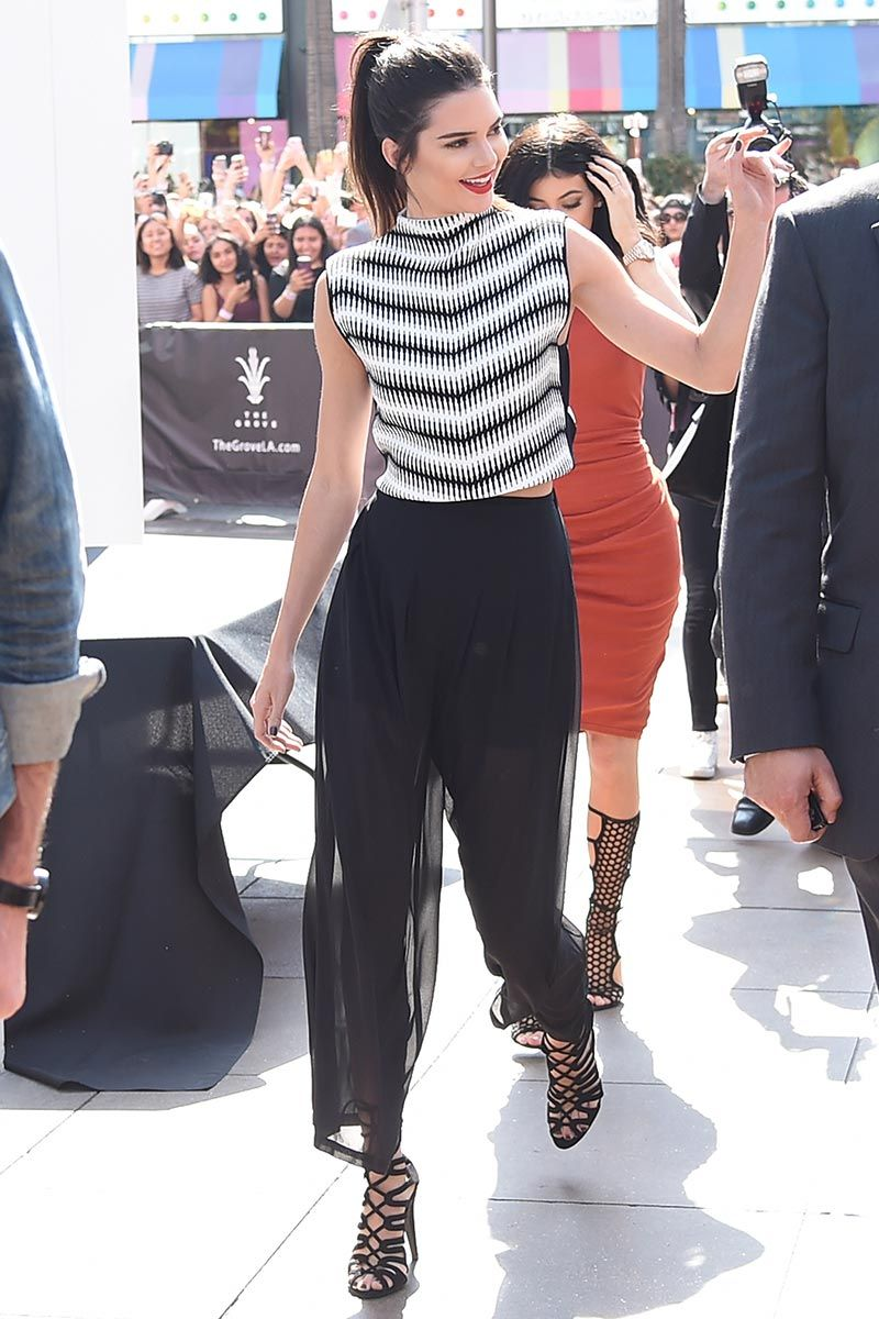 'culottes' PlataformasPantalones Beckham Y Top LooksDe Victoria shdtrQCx