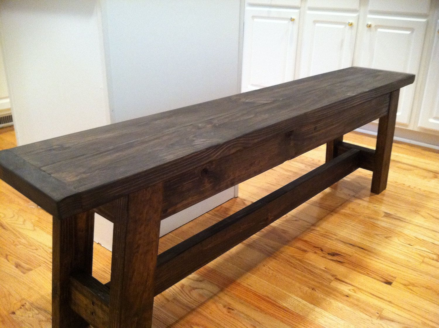 Rustic Wood Farmhouse Bench Farmhouse Furniture Farmhouse Bench