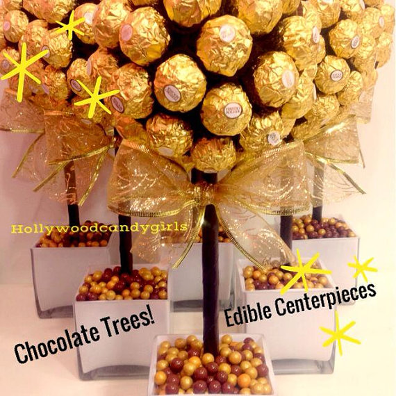 Ferrero rocher holiday chocolate brown gold candy