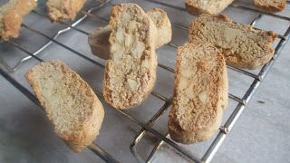 Tasty food recipes: Mocha and almond biscotti