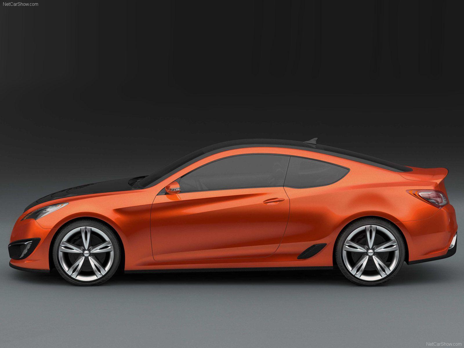 Hyundai genesis coupe but not orange