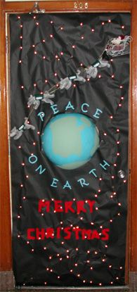 Decorated Doors Peace On Earth Fundraising Ideas