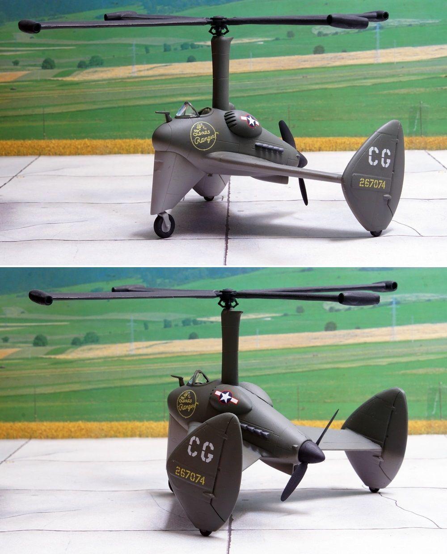 Pitcairn O-64 Locust    The last autogyro of the USAAF