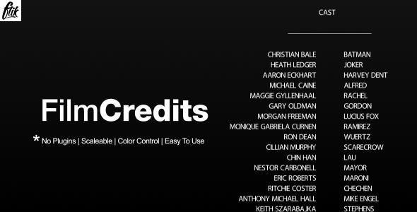 Film Credits Film Credits Film Credits Design Credit Repair Services