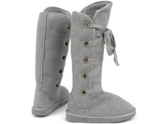 damske sive snurovacie cizmy Holy grey boots Holy #boots