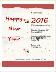 new year party invitation card download at httpwwwdoxhuborg