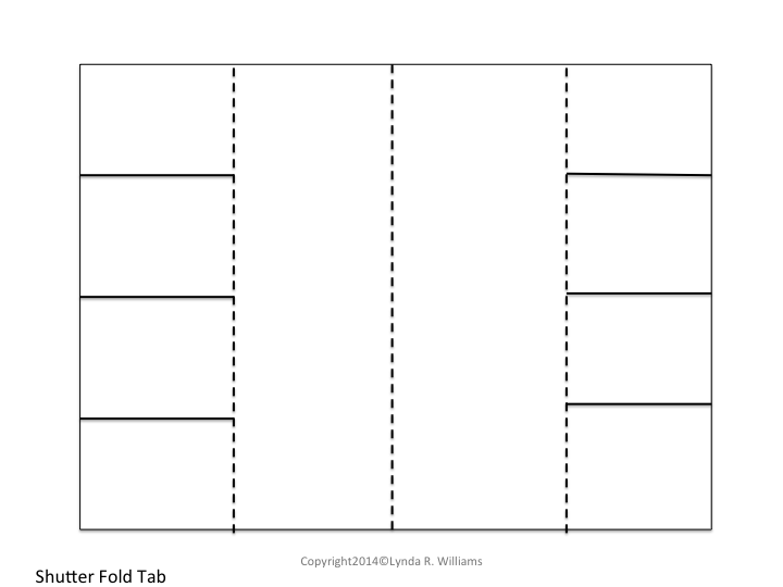 photograph about Printable Foldables named Vocabulary for Interactive Notebooks-Freebie Foldable