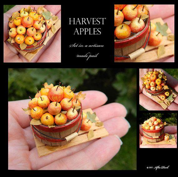Harvest Apples Set In A Luxury Artisan Basket Artisan
