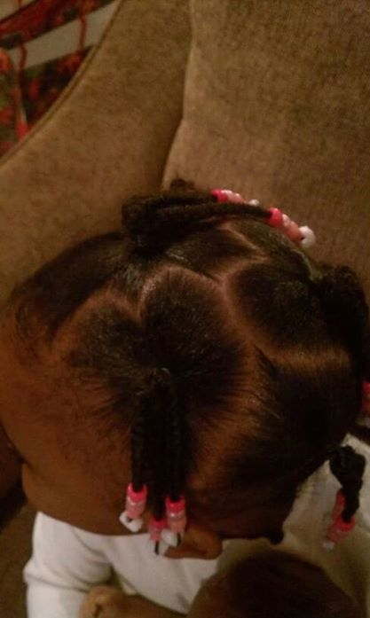 Valentines Day Little Girl Hairstyles
