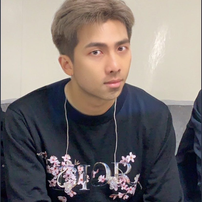 Before your birthday ends my first and last role model Namjoonie hyung happy birthday ㅎㅎ  Jungkook stop... #happybirthdayjungkook