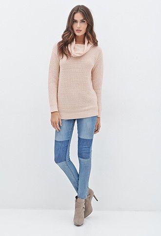 59631e176 Contemporary Cowl Neck Sweater