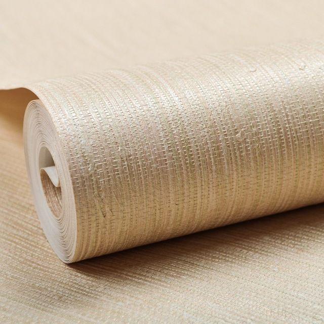Vertical Texture Metallic Silver Faux Grasscloth Vinyl Modern Wall Paper Straw G Papel De Parede Listrado Paredes Da Sala De Jantar Papel De Parede Texturizado