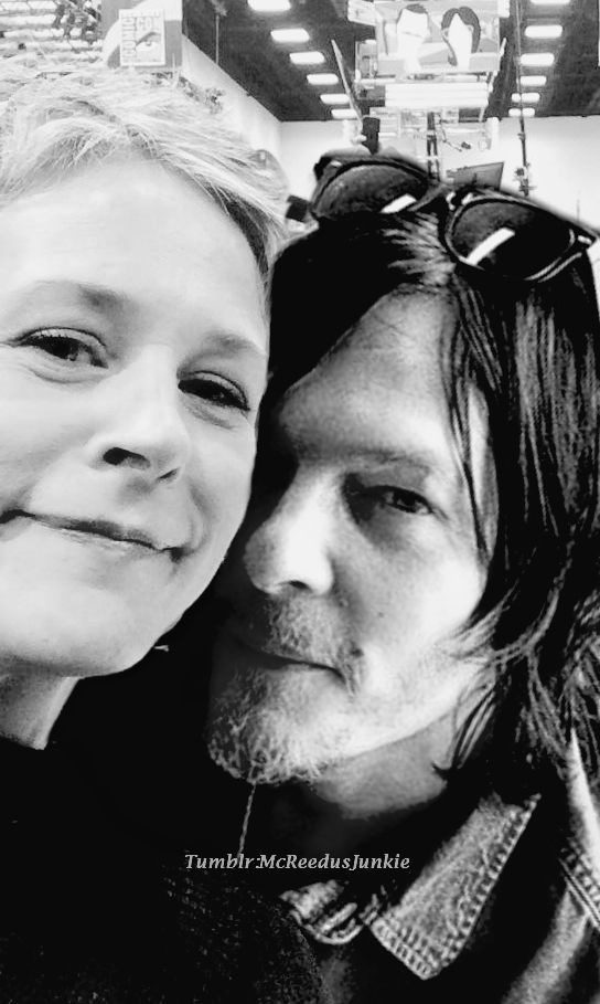 Melissa and Norman/Carol and Daryl. Walking Dead.
