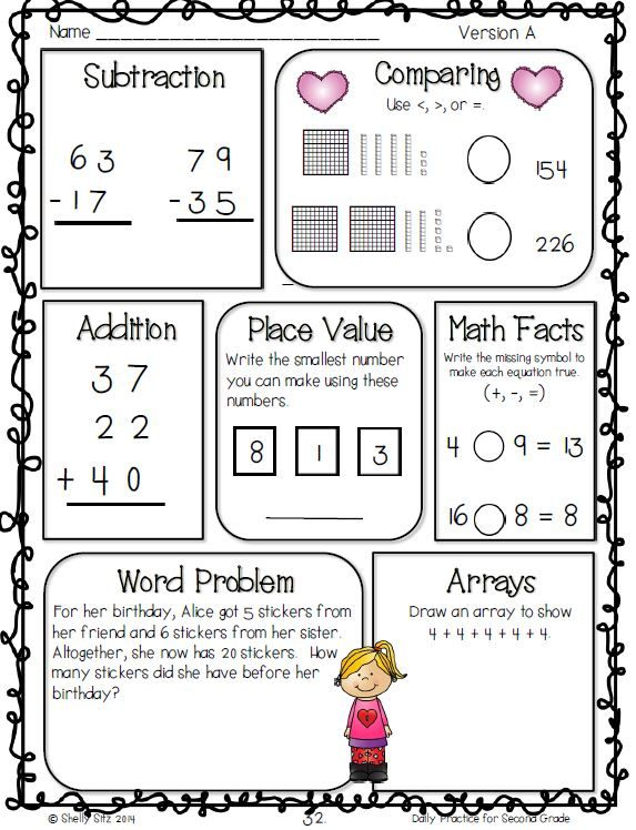 Common Core Math and Language Arts Daily Practice for ...