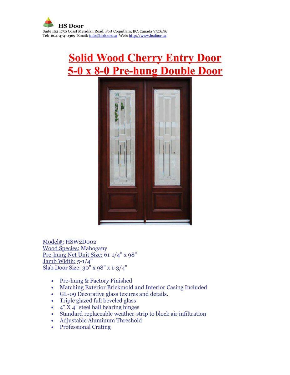 Sales Hsdoor Saleshsdoor Entry Doors Door Sales Slab Door