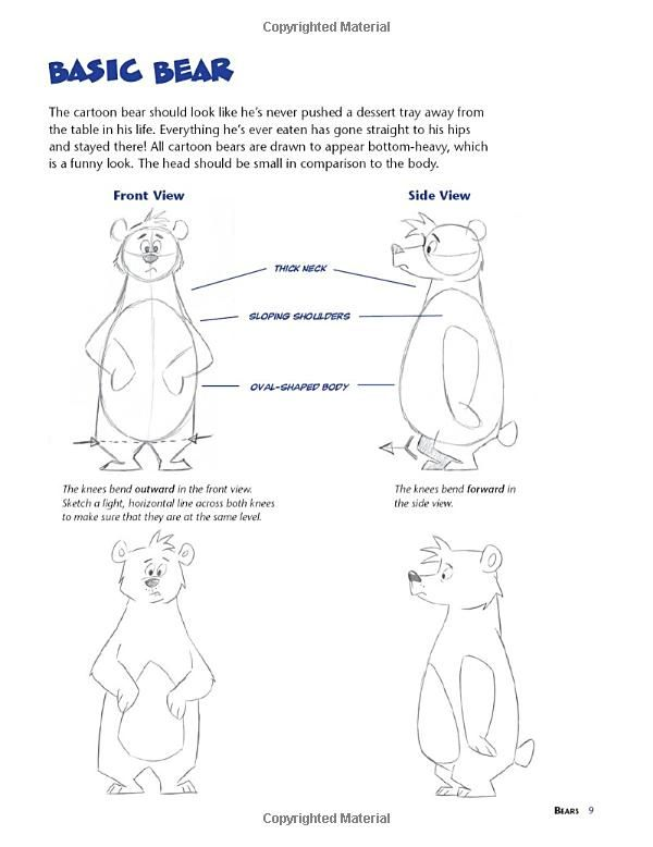 The Cartoonist S Big Book Of Drawing Animals Christopher Hart 9780823014217 Amazon Com Books Easy Cartoon Drawings Animal Drawings Book Drawing