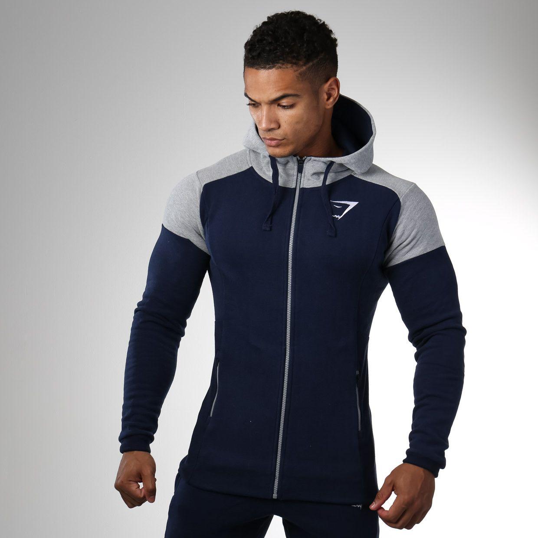 Size M Terrific Value Clothing, Shoes, Accessories Activewear Grey Gymshark Ark Zip Hoodie
