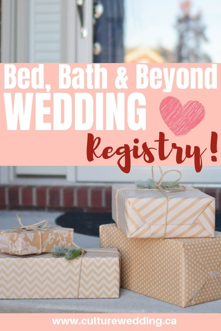 Bed Bath And Beyond Wedding Registry