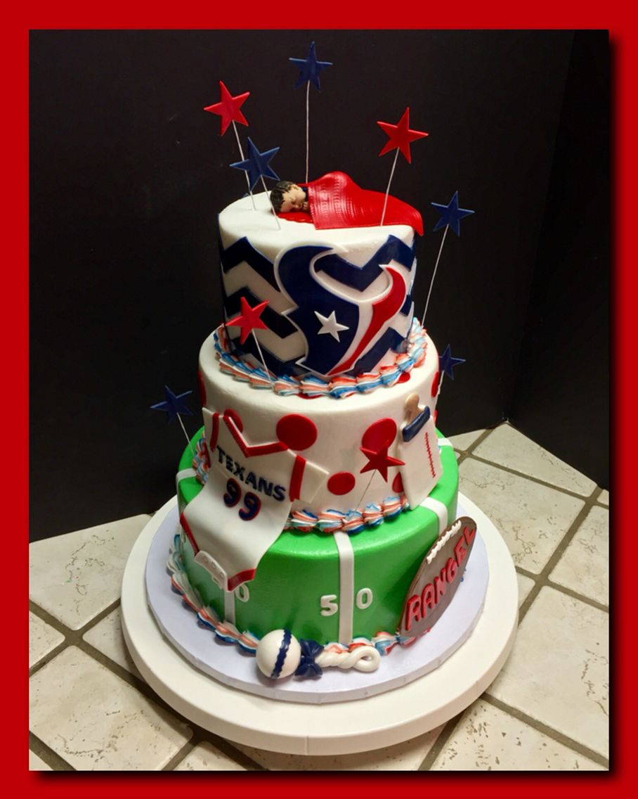 A Houston Texans baby shower cake The Great Cakery Pinterest