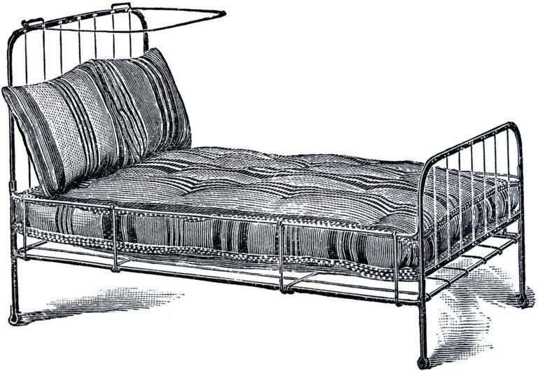 Bed Clipart Actividades