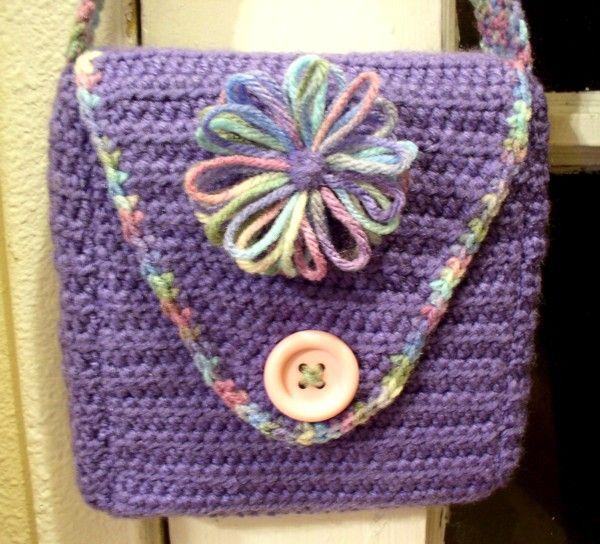 Loom+Knitting+Purse+Pattern | Knifty Knitter Bag Patterns ...