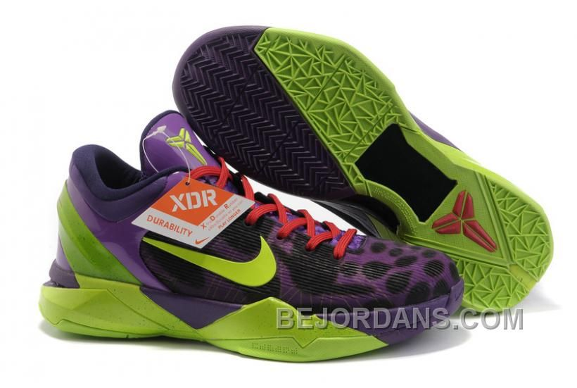 NIKE ZOOM Kobe Bryant 7 Generations Purple Green NZH0575