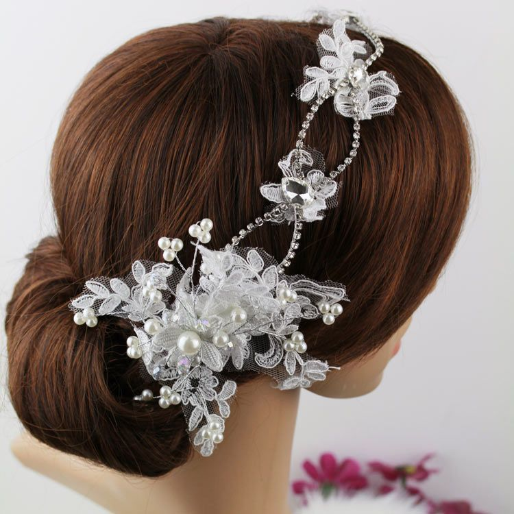 Cheap Accessories Motorola Buy Quality Gift Box For Wine Directly From China Accessories Studio Suppliers Lace Bride Hairbands Pearl Bridal Headpiece Hair Acc