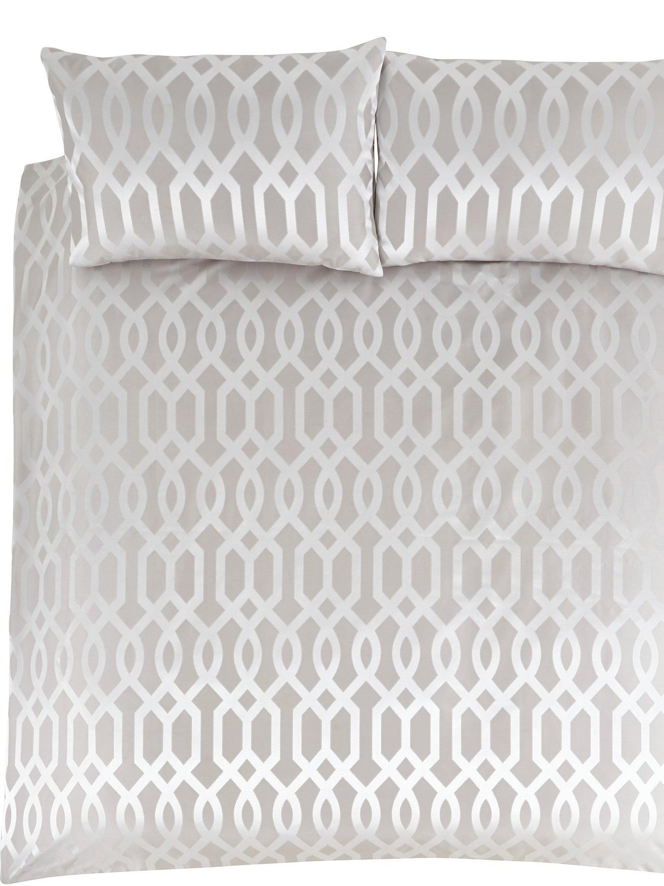 Ideal Home Florence Geometric Duvet Cover Set