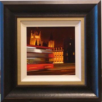 Crossover Westminster Bridge by Michael Ashcroft www.hepplestonefineart.com