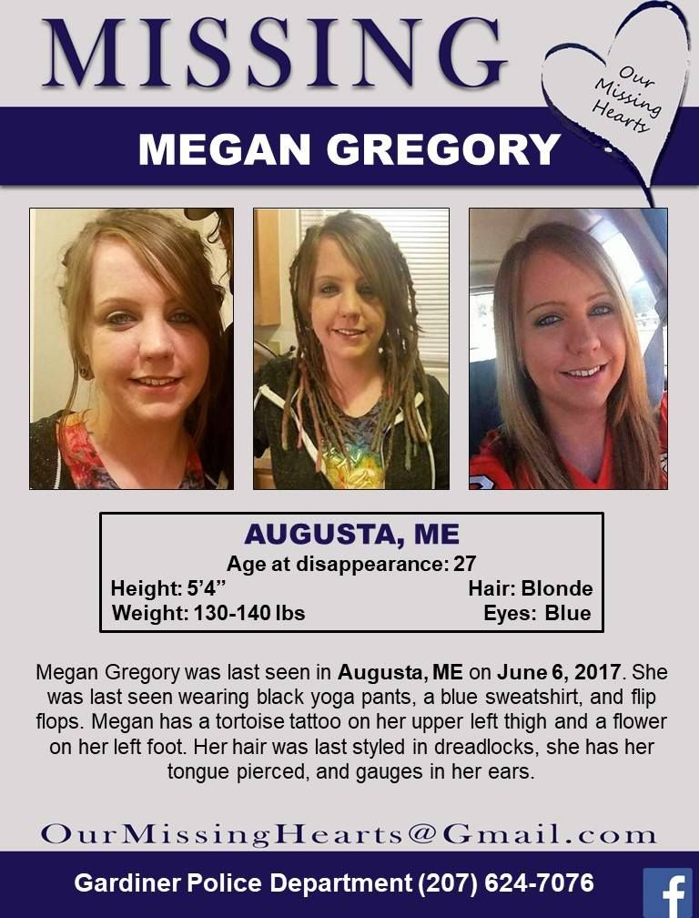 Find Megan Gregory, Still Missing! Missing Persons Please Find - missing person template