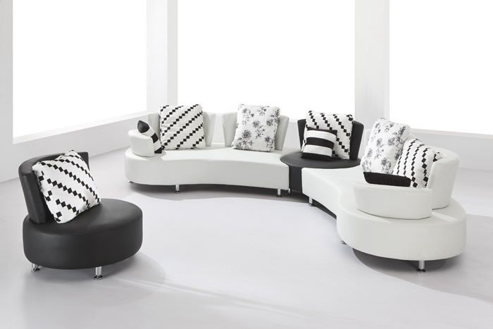 Beautiful Large Round Curved Sofa Sectional | Living Room Design   Best Curved  Sectional Sofas