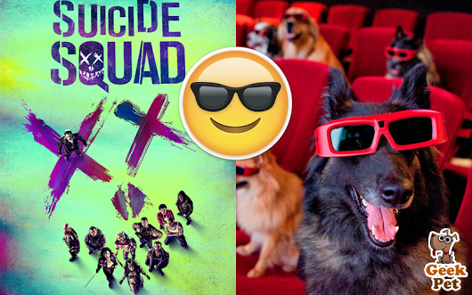 Hoy es día de Cine #EscuadrónSuicida #SuicideSquad #cine #pelicula