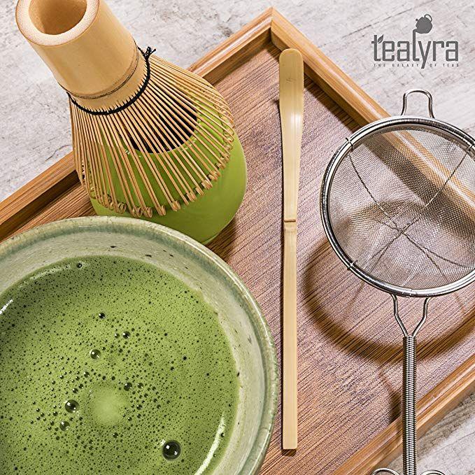 Amazon Com Tealyra Matcha Kit Connoisseur Ceremony Start Up Set Premium Matcha Tea Powder