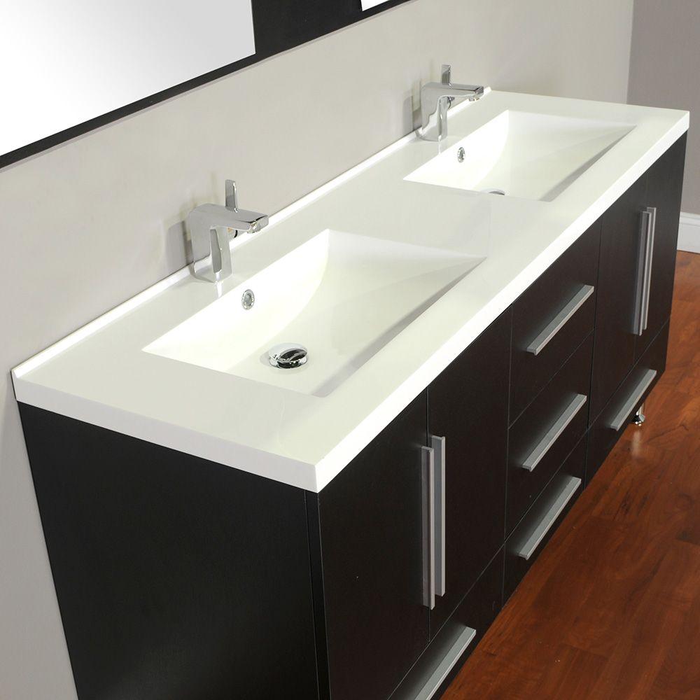 Alya Bath Ripley 67 inch Freestanding Double Modern ...