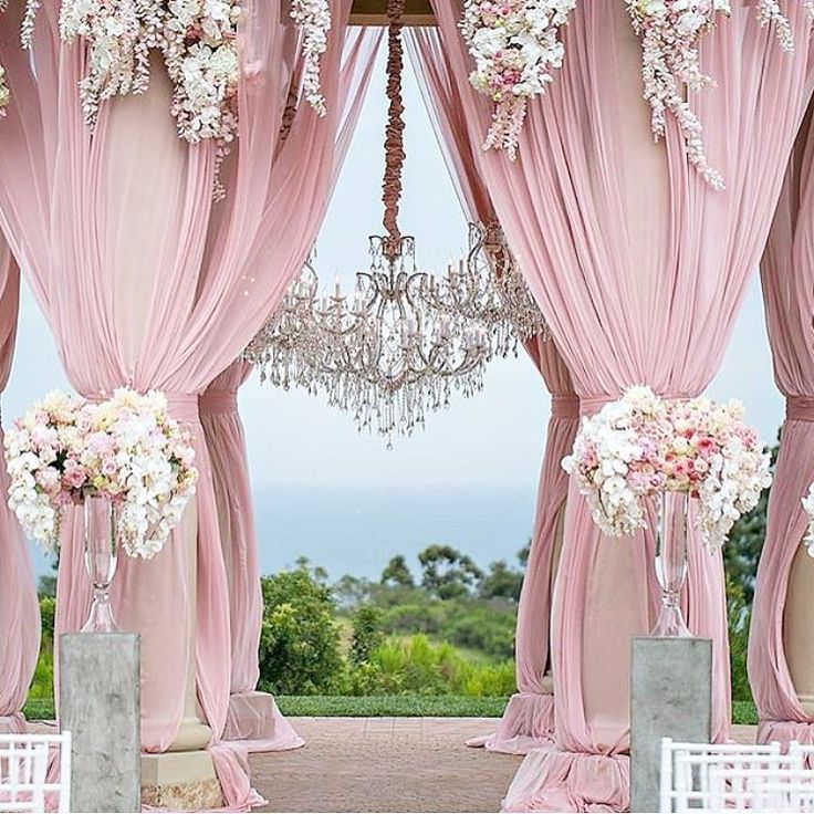 Stunning Pink Wedding Decorations Inspiration