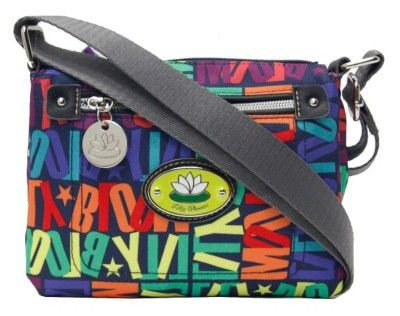 This Colorful Crossbody Handbag By Lily Bloom Is Made Of Recycled Plastic Bottles And Features Main