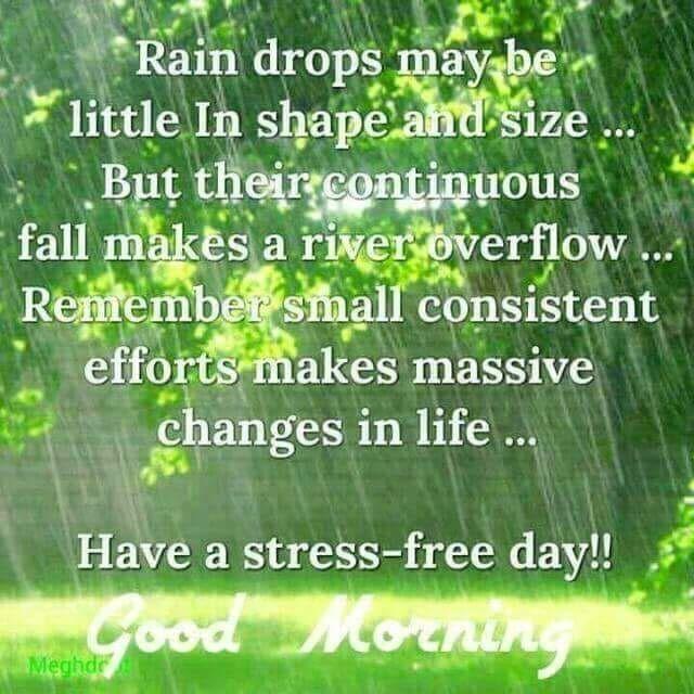 Good Morning Rainy Day Quotes Archidev